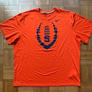 NIKE Syracuse University Orange Dri Fit T Shirt
